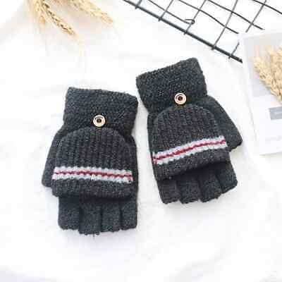 Children's Fingerless Gloves Mittens