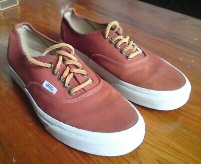 Brown Vans Trainers Size 7 Eur 40.
