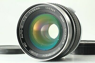 [Exc+++++] Olympus OM System Zuiko MC Auto-W 35mm f2 MF Lens from JAPAN 0305L