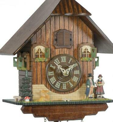 Chalet cuckoo clock with quartz movement, 428 Q