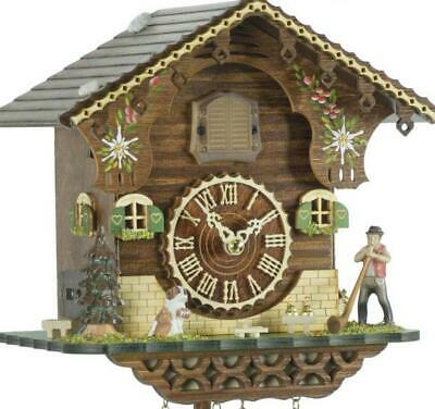 Chalet cuckoo clock with quartz movement, 423 Q