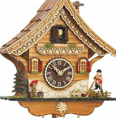 Chalet cuckoo clock with quartz movement and music, 4204 QM