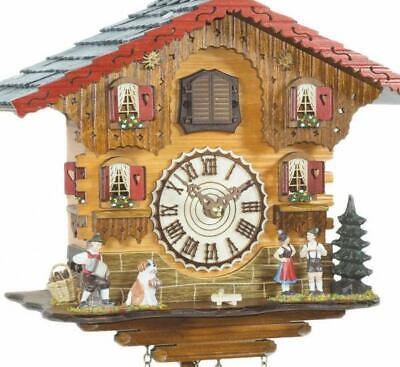 Chalet cuckoo clock with quartz movement, 449 Q HZZG