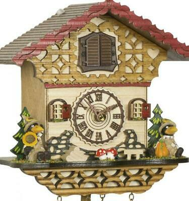 Chalet cuckoo clock with quartz movement and music, 4232 QM