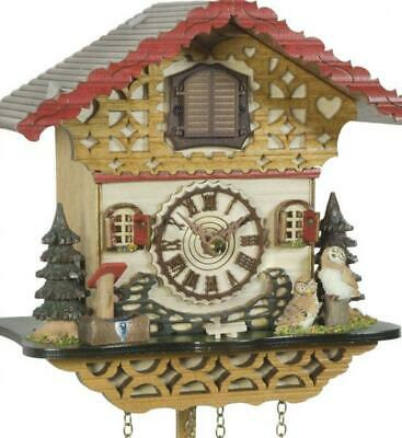 Chalet cuckoo clock with quartz movement and music, 4226 QM