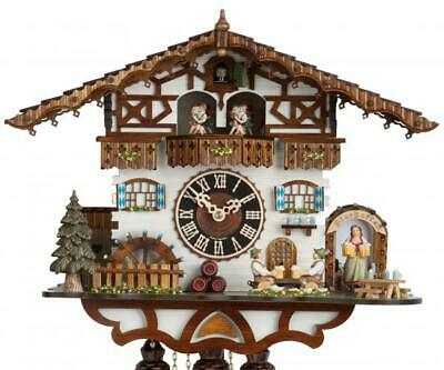 Bavaria: chalet cuckoo clock with mechanical 8-days-movement and music (with ...