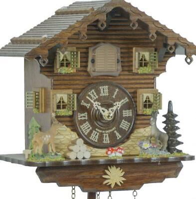 Chalet cuckoo clock with quartz movement, 432 Q