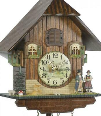 Chalet cuckoo clock with quartz movement, 428/10 Q