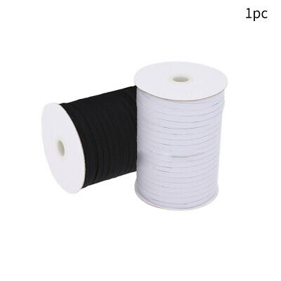 Flat Elastic Band Woven Sewing Waist Trouser Dressmaking Stretchable Invisible