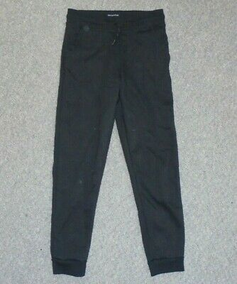 Girls Primark - Black Jogging Bottoms - Size 7-8 Yrs - Aa14