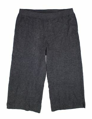 Charter Club Womens Pants Gray Size 3X Plus Cropped Cashmere Stretch $189 314
