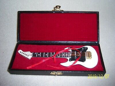 Miniature Fender Electric Guitar In Box
