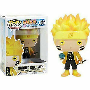 Naruto (Six Path) #186 Funko Pop Vinyl Figure NARUTO Shippuden Toy Gift in box