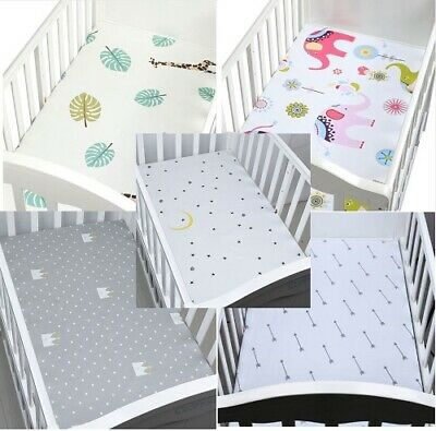 Organic Cotton Fitted Cot Sheet 130*70cm