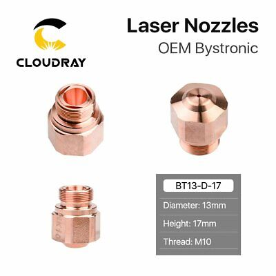 Fiber Laser Nozzles NK Double Layer H17 for OEM Bystronic Laser Cutter Head