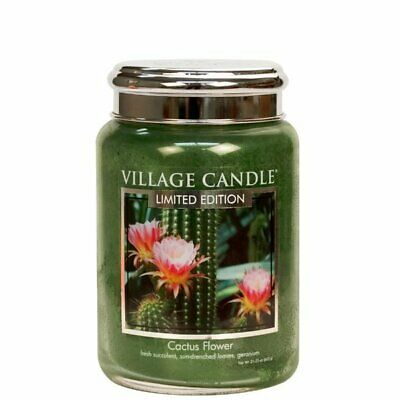 Village Candle Duftkerze Tradition Cactus Flower (602g) - Limited Edition