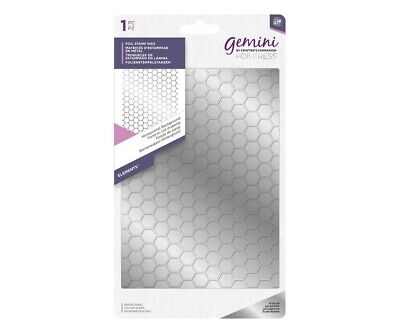 Crafter's Companion Gemini Foil Stamp 'N' Cut Die Honeycomb Background Bee
