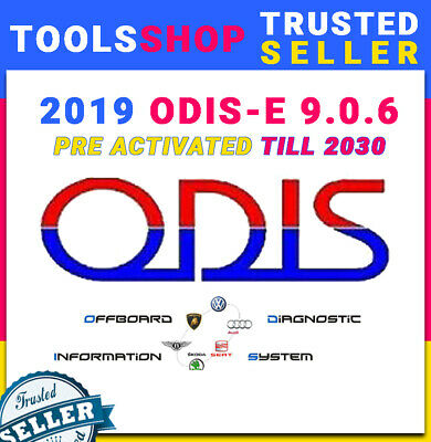 🔥🔥 |PROMO| New 2019 ODIS-E 9.0.6 Engineering Software  🔥🔥 Newest Version🔥🔥