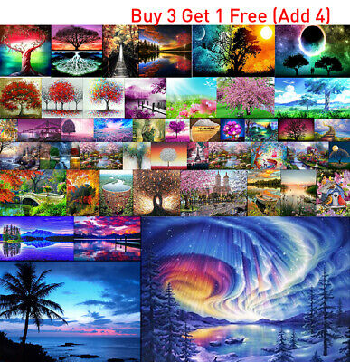 1X 5D Full Drill  Diamond Painting Family Love Letter Embroidery Cross Stitch UK