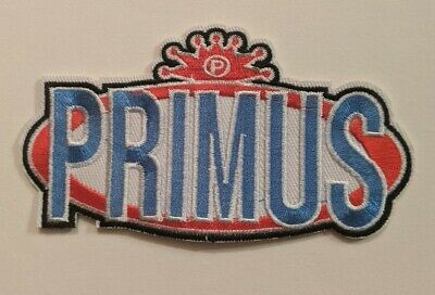 Primus Embroidered Iron-on Funk Metal Band Patch