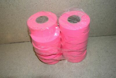 ^^ Flagging Survey Tape Pink Glo 12 Rolls - New (R1)