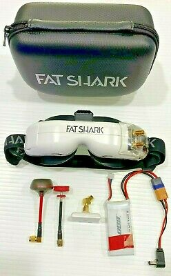 Fat Shark FSV1122 HDO FPV Goggles with Furious True-D 2 - USED in excellent cond