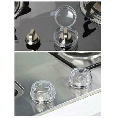 6Pc Baby Safety Oven Lock Lid Gas Stove Knob Covers Infant Child Protection Tool