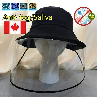Hat-Mounted Transparent Hat Anti-fog Saliva Face Shield Eye Protective -50% OFF