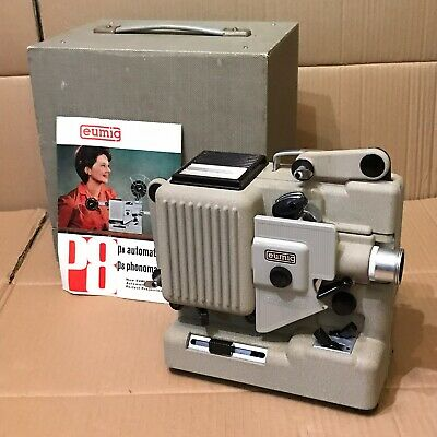 Vintage Eumig P8 Phonomatic Cine Film Projector in Case
