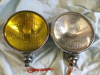 Refurbished Sft700 Spot And Fog Lamps Pair Tr2 Tr3 Alvin Bristol
