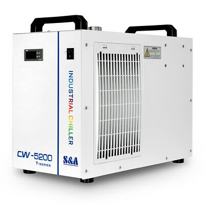 S&A CW5200 CO2 Laser Water Chiller for Laser Tube to Cooling 2 Years Warranty