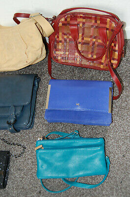 Bundle / Job Lot of Handbags, inc. Ted Baker, Radley, John Lewis, Cath Kidston