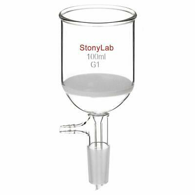 StonyLab Borosilicate Glass Buchner Filtering Funnel with Coarse Frit(G1), 56mm