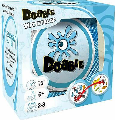 Dobble Waterproof Beach Card Family Game - New & Sealed Genuine product
