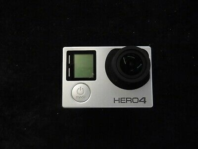 GoPro HERO 4 Silver 4K HD Action LCD touch screen Camera Camcorder