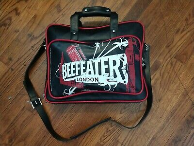 BEEFEATER GIN LONDON  Soft Shell Carrying Bag Computer Travel Bag Beef Eater