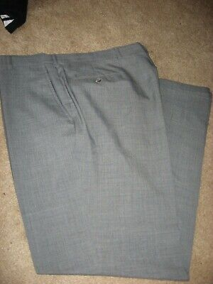 Mens Dark Gray Austin Reed Lined Wool Dress Pants 34 X 31 20 99 Picclick
