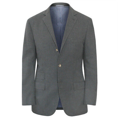 MICHAEL BASTIAN by BRUNELLO CUCINELLI gray cotton blazer sportcoat jacket 42/52