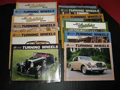 12 Studebaker Issues (1995,1998,1999)