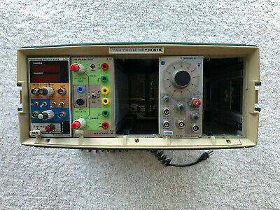 Tektronix TM515 Mainframe with 2 RARE Pulse Instruments Modules-Price reduced!