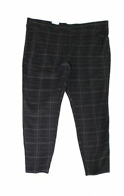 Style & Co. Womens Leggings Black Size 24W Plus Comfort-Waist Pull-On $49 122