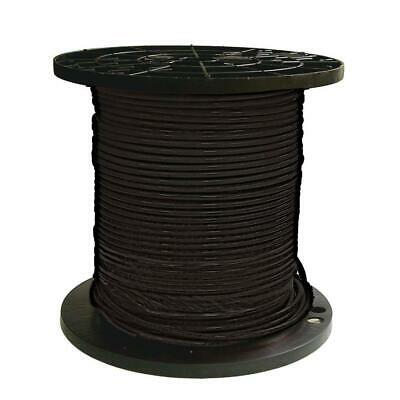 Southwire THHN Wire 500 ft. Stranded Oil Resistant Indoor Outdoor Black