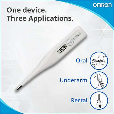 Digital OMRON LCD Thermometer Medical Baby Adult Body Safe Ear Mouth Temperature