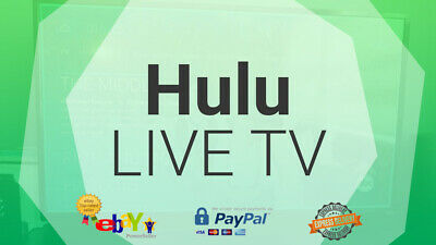Hulu Premium Live|One Year Warranty|One Time Pay|Past Delivery|Instant devilry