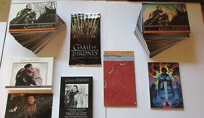 2020 Game of Thrones Season 8 MINI-MASTER SET, Album / Binder, Auto Series Eight