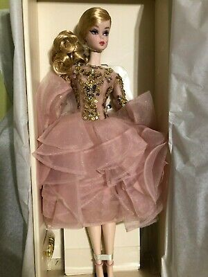 Barbie Blush And Gold Silkstone Doll Mint In Mint Box Still In Tissue***********