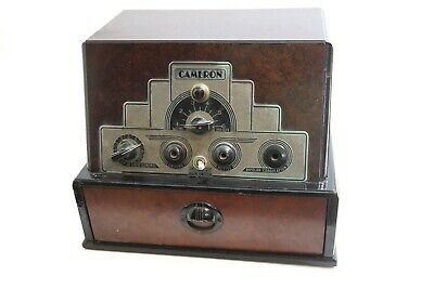 1920'S Cameron Cauteradio Art Deco Model O-25 Surgical Cauterizing Machine Quack