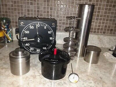 Vtg Lot Stainless Steel 35 mm Film Developing Canister  Nikor Timer Thermometer