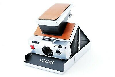Exc+++++ Tested Vintage POLAROID SX-70 LAND CAMERA Instant Film MF from Japan