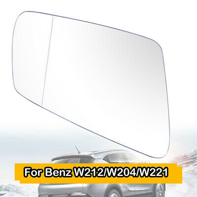 Left Passenger side Wing mirror glass for Renault Modus 2004-08 Heated